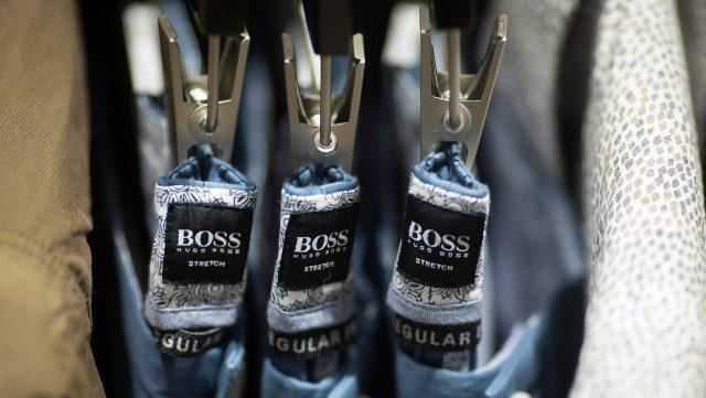 hugo boss supply chain