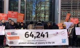 UK Victims Care Bill petition hand-in at the Home Office