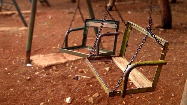 broken swing