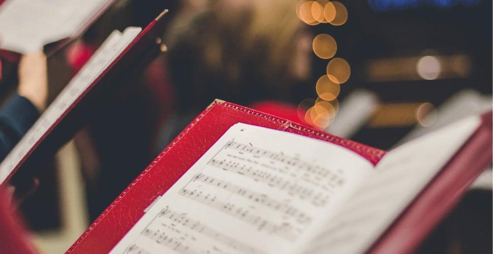 choir music sheet