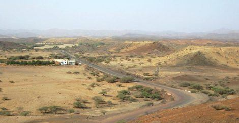 Eritrea road