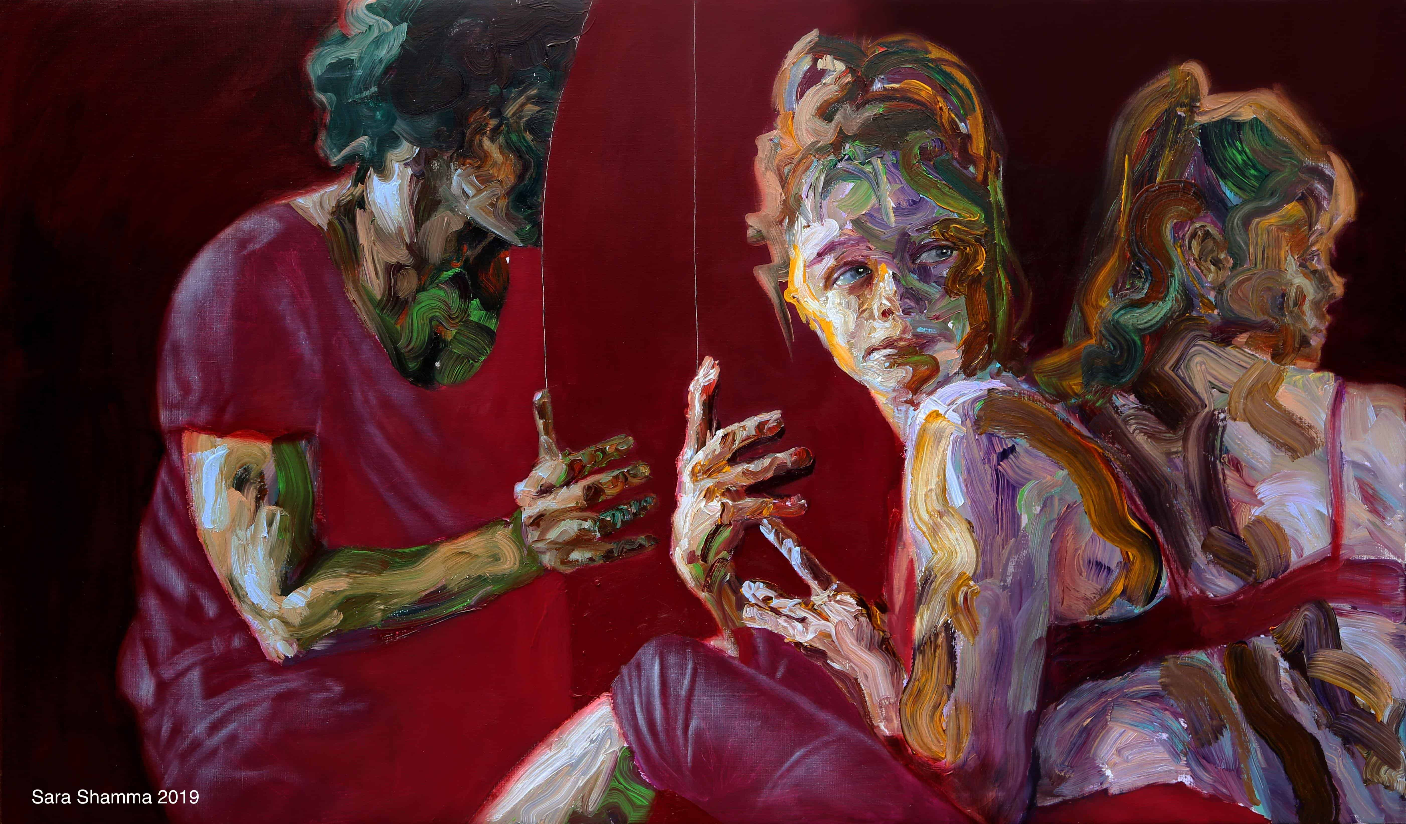 Hiding in plain sight - Sara Shamma