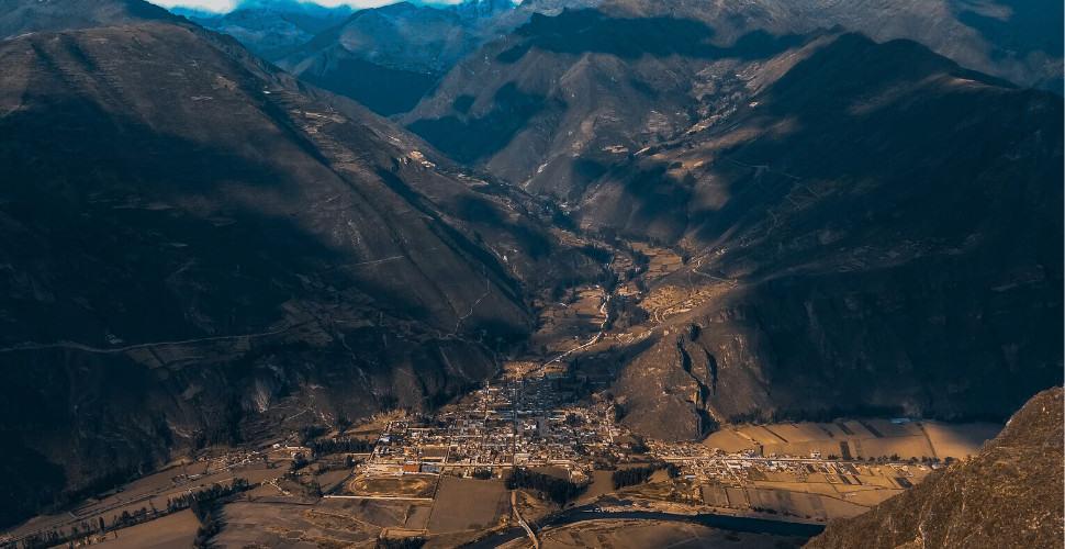 Village in Peru