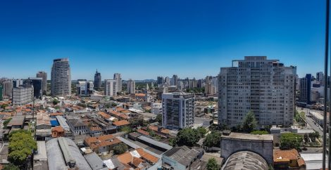 Wealthy area of São Paulo