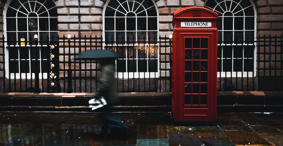 UK street scene