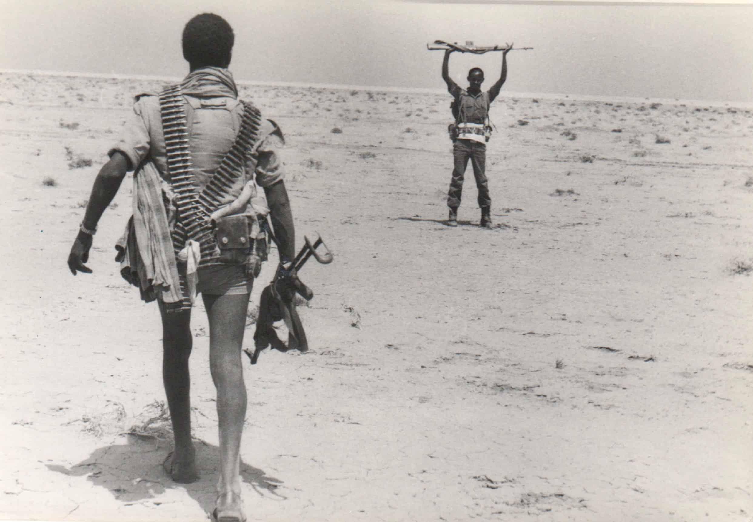 Eritrean disarms Ethiopian