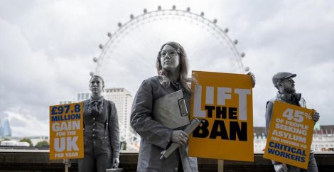 Lift the Ban protest