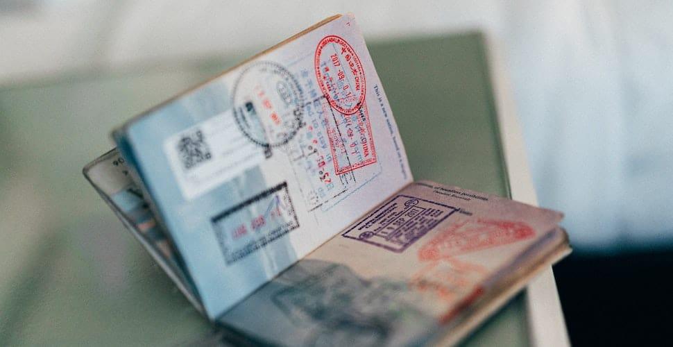 Open passport visas