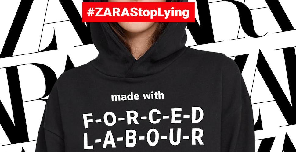 #ZaraStopLying graphic