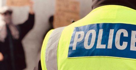 UK police jacket