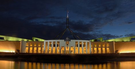 Australian government Canberra