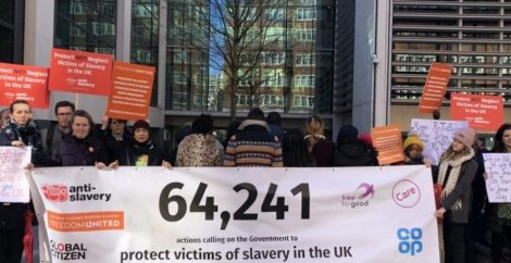 Home Office rejects 12-month support for trafficking victims