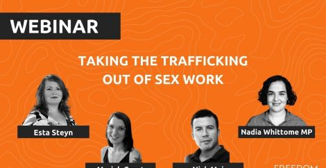 Taking the trafficking out of sex work