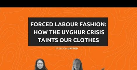 Forced Labour Fashion : How the Uyghur Crisis Taints our Clothes