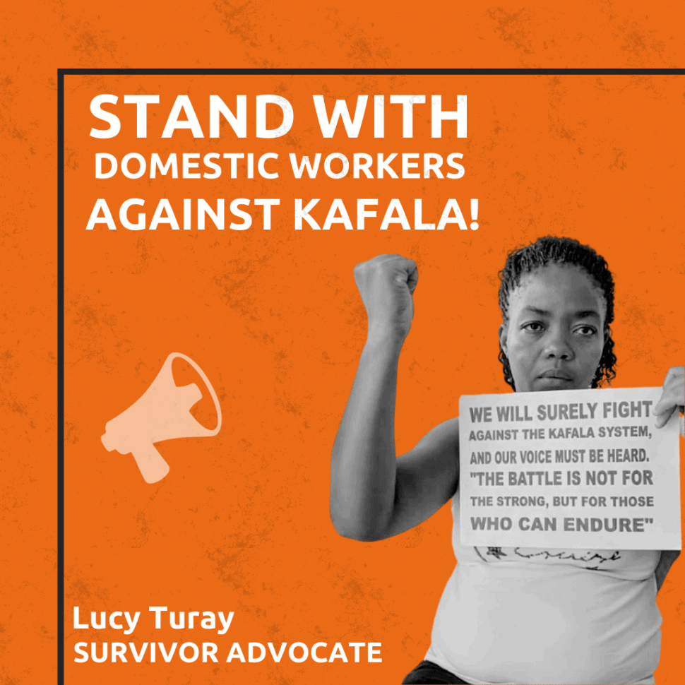 Stand with domestic workers against kafala