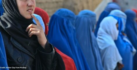 Women and girls at perilous risk of slavery under the Taliban