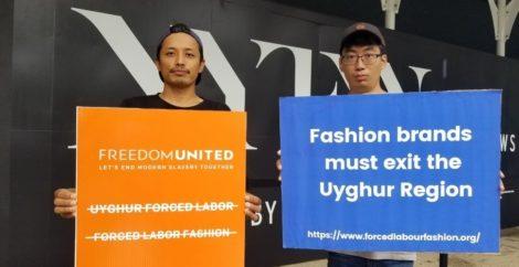 Freedom United rallies against forced labor fashion at New York Fashion Week