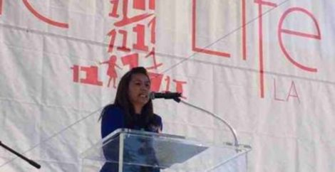 Survivor advocate Angela